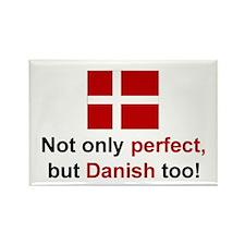 "Perfect Danish Magnet (3""x2"")"