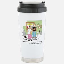 you could start chewing your Travel Mug