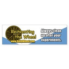 Reinventing the Wheel Bumper Bumper Sticker