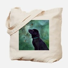 Cute Black labs Tote Bag