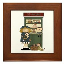 I Love Annies Framed Tile