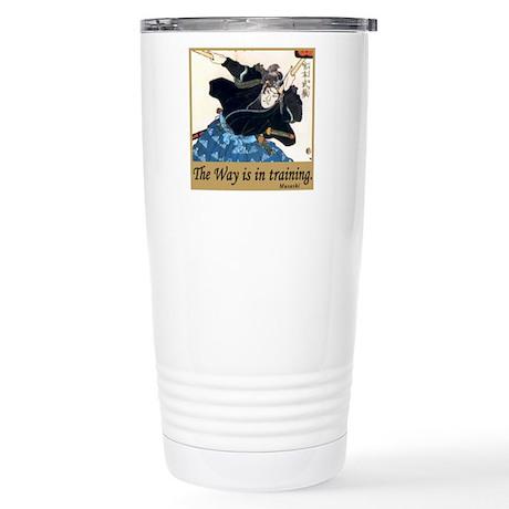 Musashi Stainless Steel Travel Mug