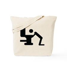 hang over icon Tote Bag
