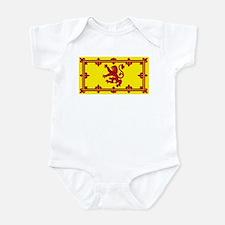 Scotland Scottish Blank Flag Infant Creeper