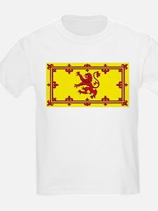 Scotland Scottish Blank Flag Kids T-Shirt