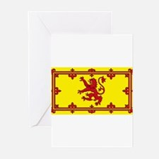Scotland Scottish Blank Flag Greeting Cards (Packa