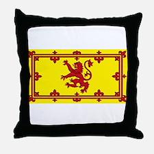Scotland Scottish Blank Flag Throw Pillow