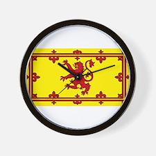 Scotland Scottish Blank Flag Wall Clock