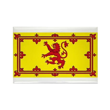 Scotland Scottish Blank Flag Rectangle Magnet (10