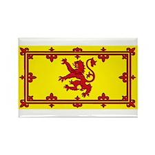 Scotland Scottish Blank Flag Rectangle Magnet