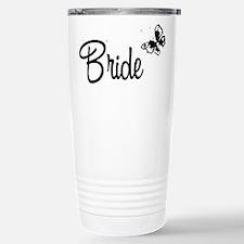 Single Butterfly Bride Travel Mug