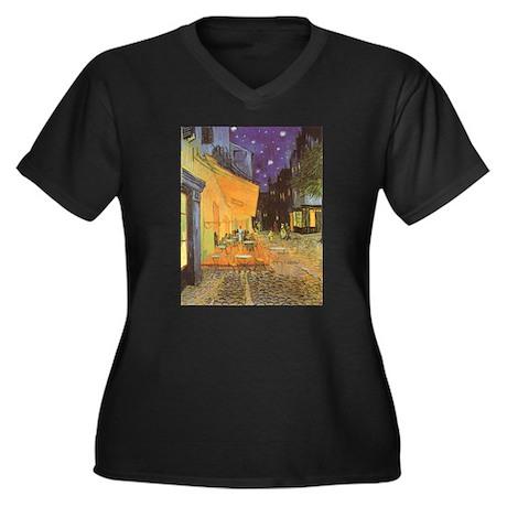 Van Gogh Cafe Terrace at Night Women's Plus Size V