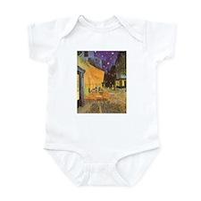 Van Gogh Cafe Terrace at Night Infant Bodysuit