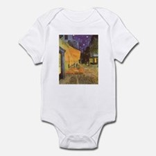 Van Gogh Cafe Terrace at Night Infant Bodysuit