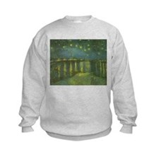Van Gogh Starry Night Over the Rhone Sweatshirt
