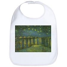 Van Gogh Starry Night Over the Rhone Bib