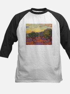 Van Gogh Olive Grove Orange Sky Tee