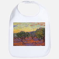 Van Gogh Olive Grove Orange Sky Bib
