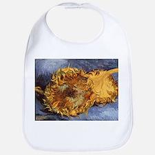 Van Gogh Two Cut Sunflowers Bib
