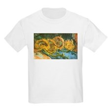 Van Gogh Four Cut Sunflowers T-Shirt