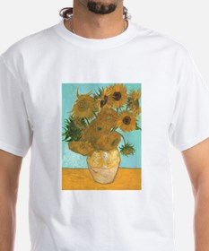 Van Gogh Vase with Sunflowers Shirt