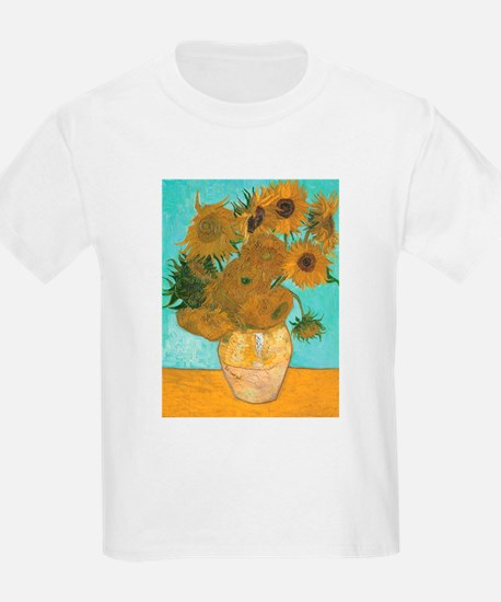 Van Gogh Vase with Sunflowers T-Shirt