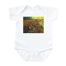 Van Gogh The Red Vineyard Infant Bodysuit