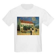 Van Gogh White House at Night T-Shirt