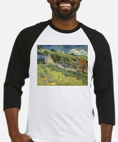 Van Gogh Thatched Cottages Baseball Jersey