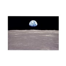 Earthrise Apollo 11 Rectangle Magnet