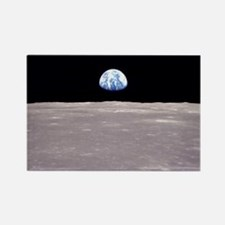 Earthrise Apollo 11 Rectangle Magnet