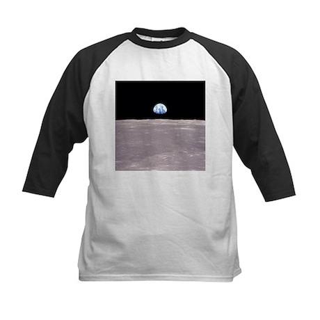 Earthrise Apollo 11 Kids Baseball Jersey