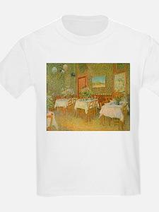 Van Gogh Interior of a Restaurant T-Shirt
