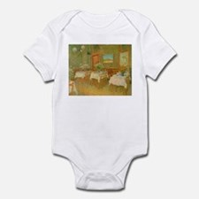 Van Gogh Interior of a Restaurant Infant Bodysuit