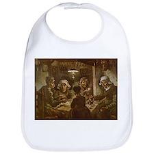 Van Gogh Potato Eaters Bib
