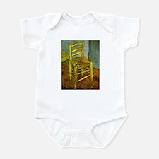 Van Gogh Vincent's Chair Infant Bodysuit