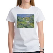 Houses in Provence by Cezanne Tee