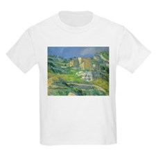 Houses in Provence by Cezanne T-Shirt