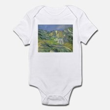 Houses in Provence by Cezanne Infant Bodysuit