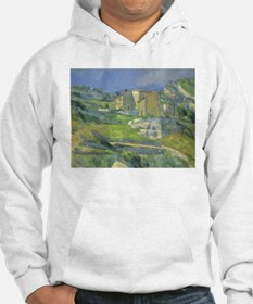 Houses in Provence by Cezanne Hoodie