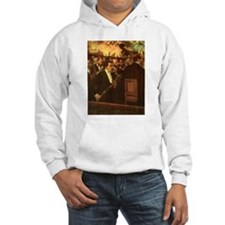 Orchestra of Opera by Degas Hoodie