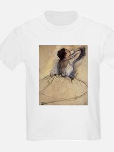The Dancer by Edgar Degas T-Shirt