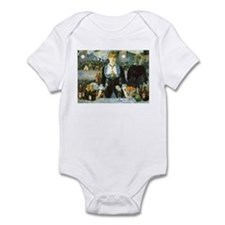 Manet, A Bar at the Folies-Bergere Infant Bodysuit