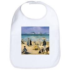 Manet, Beach at Boulogne Bib