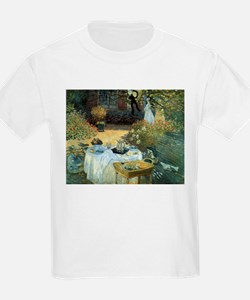 The Luncheon by Claude Monet T-Shirt