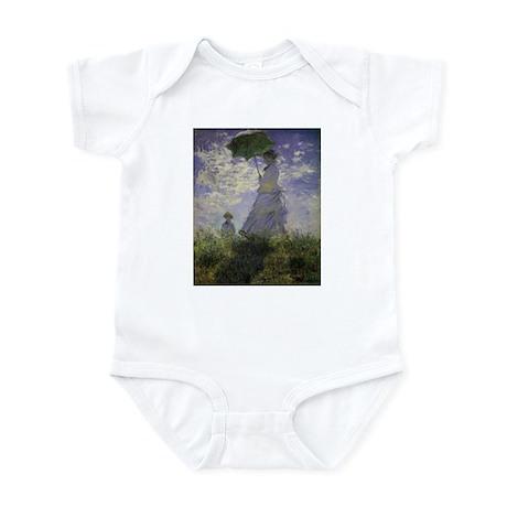 Claude Monet Woman w Parasol Infant Bodysuit