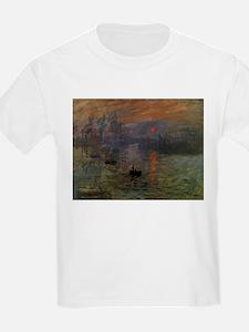 Impression, Sunrise by Claude Monet T-Shirt