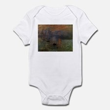 Impression, Sunrise by Claude Monet Infant Bodysui