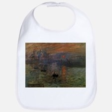 Impression, Sunrise by Claude Monet Bib