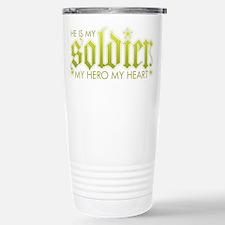 My Solder My Hero My Heart Travel Mug
